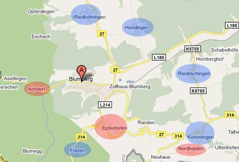 DSL-Ausbau in Blumberg