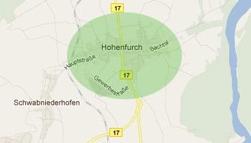 Hohenfurch hat DSL