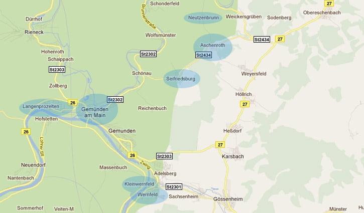 Breitband-Ausbau in Gemünden