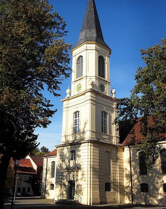 Kirchturm in Zossen (Brandenburg)
