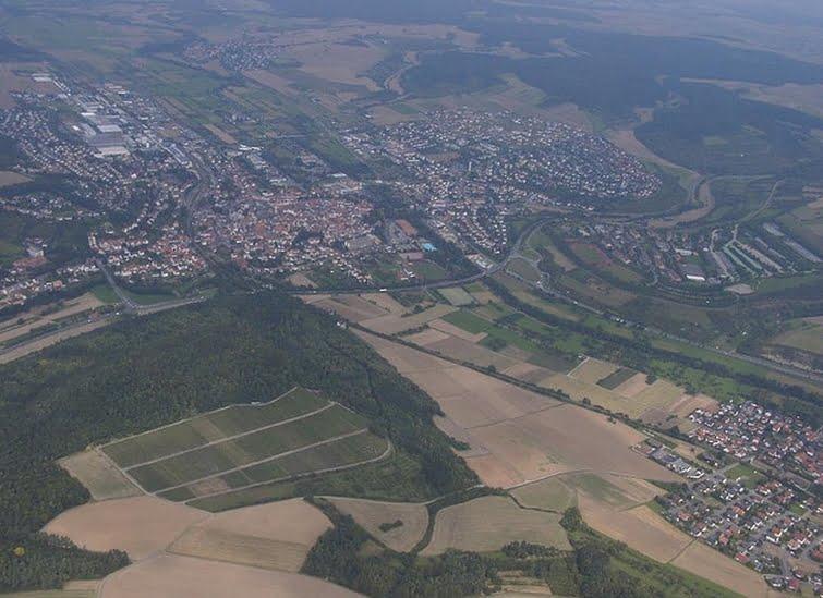 Tauberbischofsheim Luftaufnahme