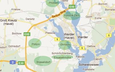 Ausbau bei Werder Havel