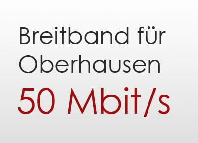 50 Mbit Oberhausen