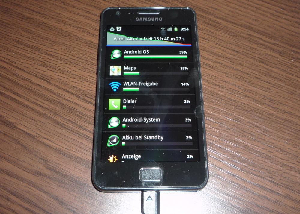 Mein Handy mit Internet