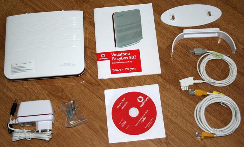Vodafone Installationscode bei der Easybox