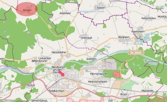 Bergen Neuburg an der Donau