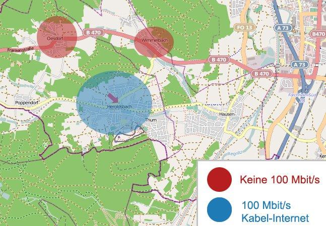 Heroldsbach Internetausbau