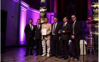 """Huawei Infovision Award """"Best Broadband Access"""" in Amsterdam (Quelle: Huawei)"""
