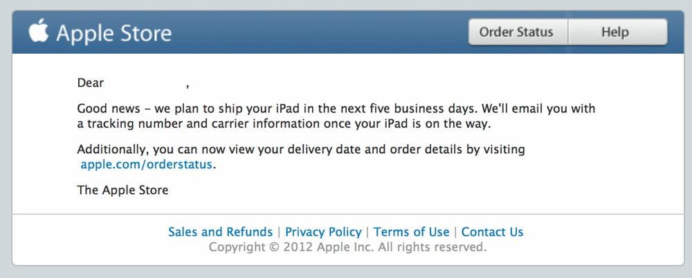 iPad Mini LTE – Verkauf vorgezogen
