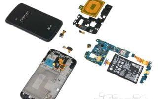 Nexus 4 zerlegt