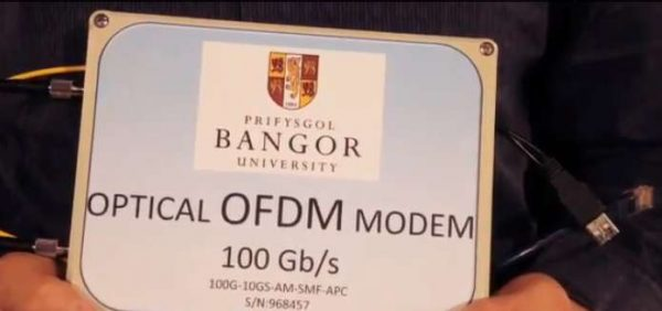 Optical OFDM Modem