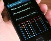 Datennutzung am Smartphone