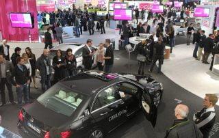Telekom: Connected Car auf der Cebit 2013