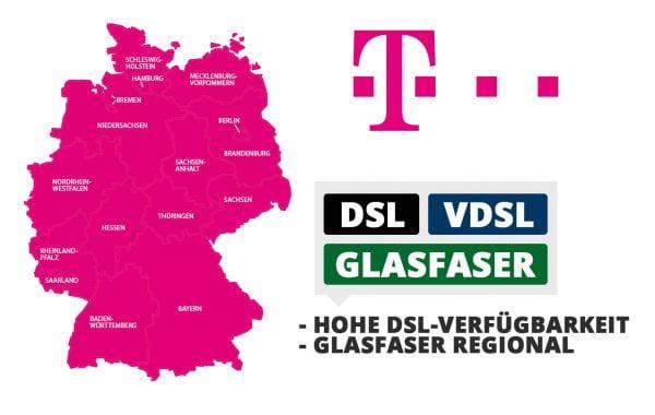 Telekom DSL-Verfügbarkeit