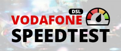 Vodafone DSL-Speedtest