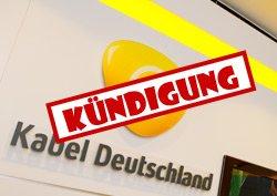 Vodafone Kabel Deutschland Internet kündigen