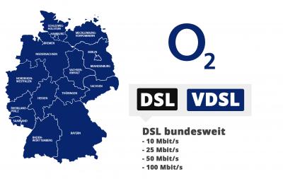 o2 DSL-Verfügbarkeit