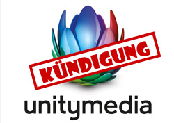 Unitymedia-Internet kündigen