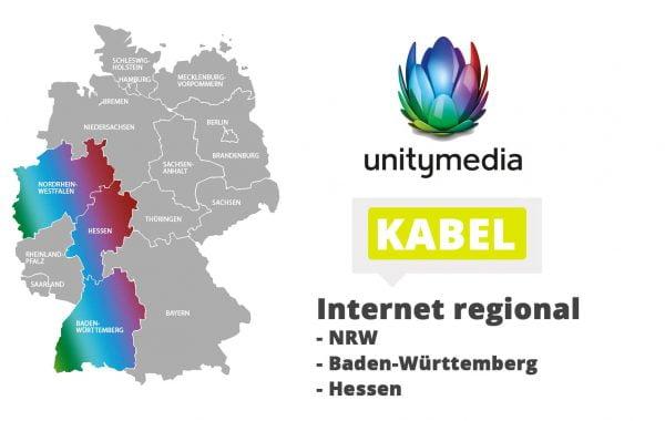 Unitymedia Internet-Verfügbarkeit