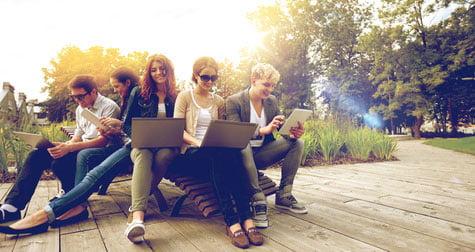 Internet für junge Leute