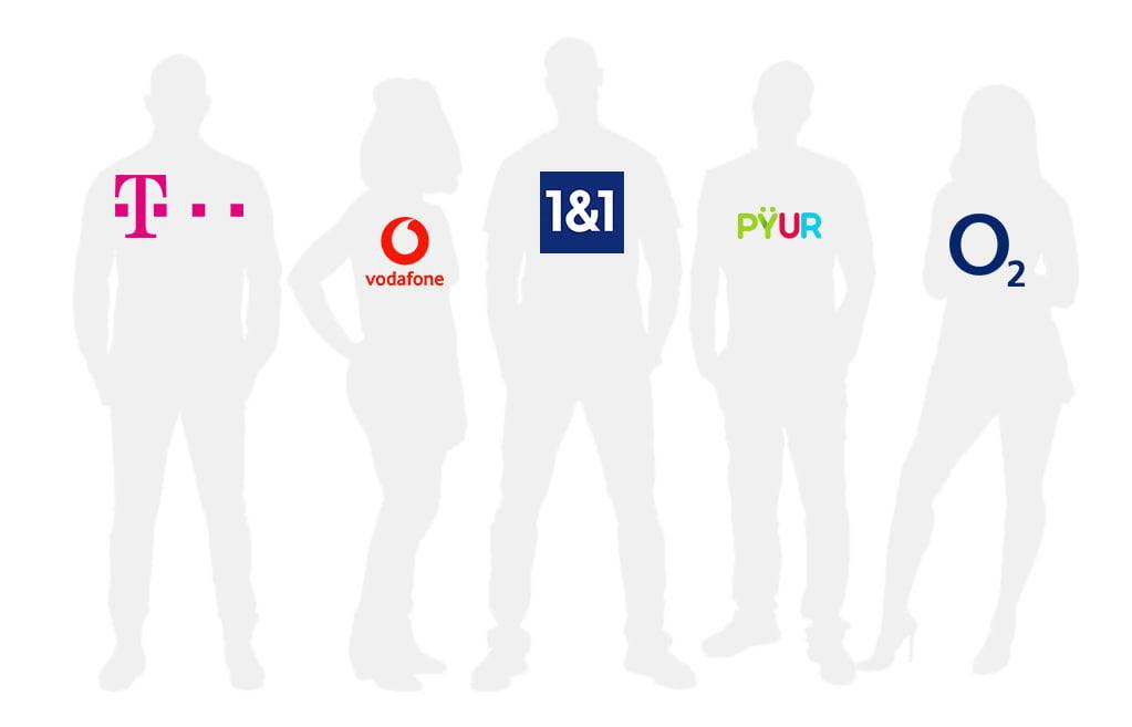 Internetanbieter in Deutschland