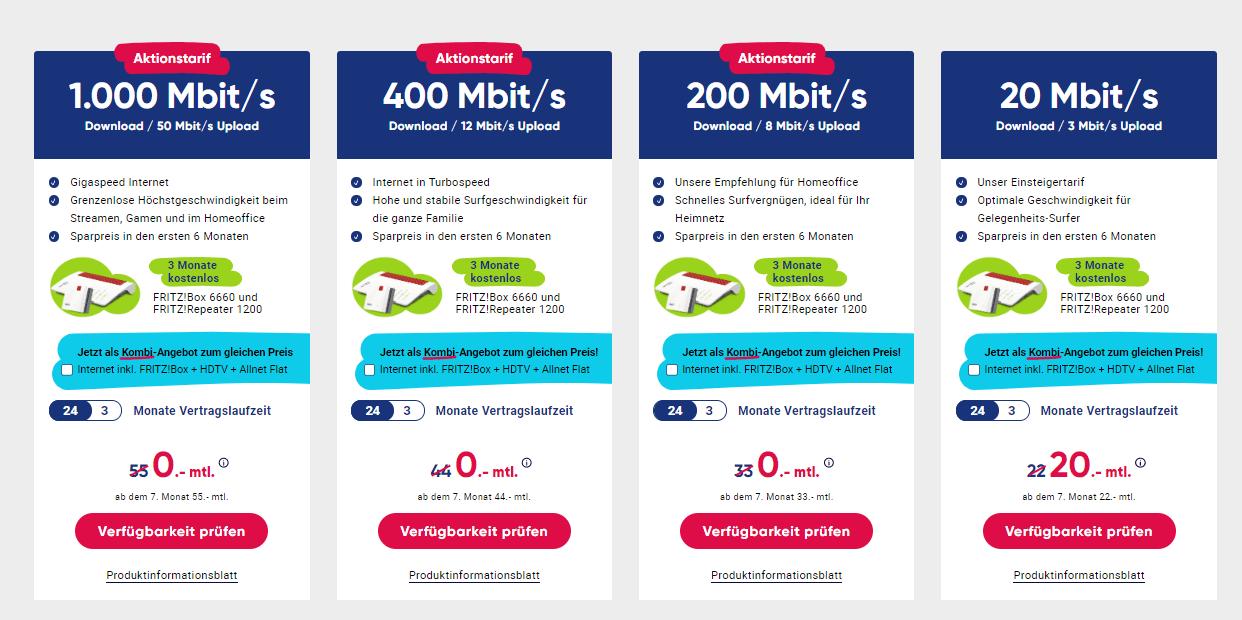 PYUR Internet ab 20 Euro
